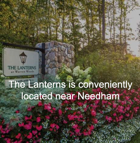 sign of senior living community for sale in Needham MA
