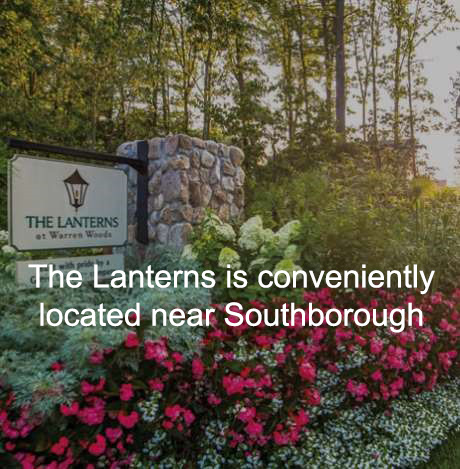 sign of active retirement community in Southborough MA